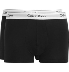 Calvin Klein Underwear - Two-Pack Stretch-Cotton Boxer Briefs