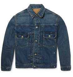 OrSlow - + Beams 1950s Slim-Fit Selvedge Denim Jacket