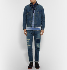 OrSlow + Beams 1950s Slim-Fit Selvedge Denim Jacket