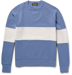 Levi's Vintage Clothing 1950s Colour-Block Loopback Cotton-Jersey Sweatshirt