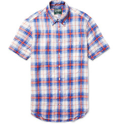 Gitman Vintage - Checked Linen Shirt