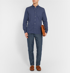 Club Monaco Connor Linen and Cotton-Blend Trousers