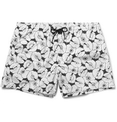 Club Monaco - Arlen Slim-Fit Short-Length Printed Swim Shorts