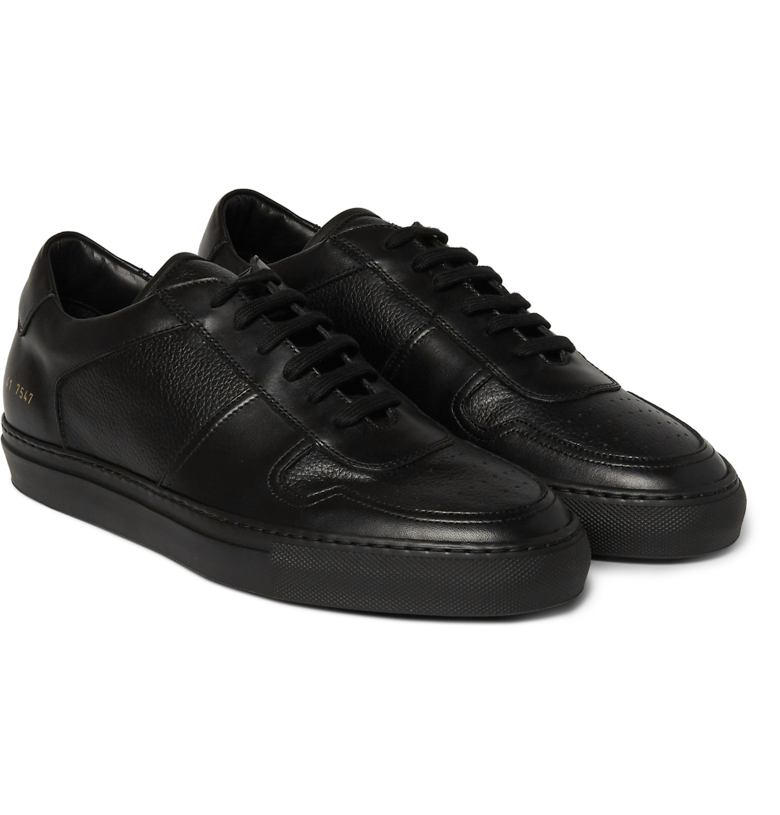 6f597dc88199 Common Projects - BBall Leather Sneakers