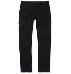 Jean Shop Genie Slim-Fit Cotton-Twill Cargo Trousers