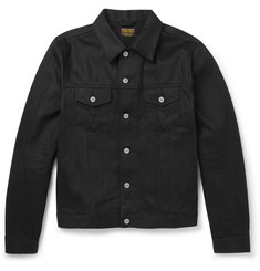 Jean Shop Wayne Slim-Fit Selvedge Denim Jacket