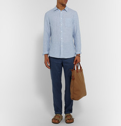 Onia Abe Striped Linen Shirt