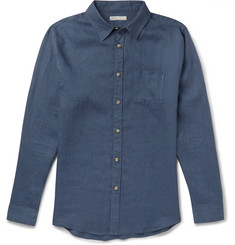 Onia Abe Slim-Fit Linen Shirt