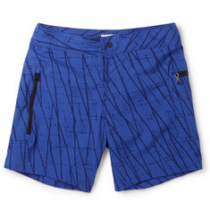 Everest Isles - Draupner Mid-Length Printed Swim Shorts