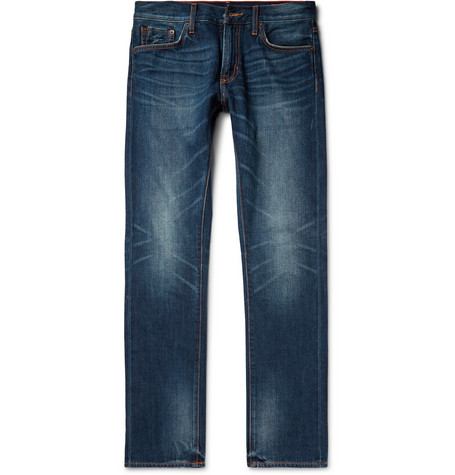 Mick Slim-fit Selvedge Denim Jeans - Indigo