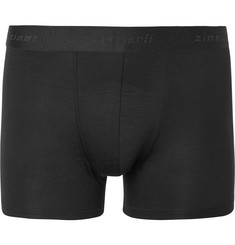 Zimmerli Pureness Stretch Micro Modal Boxer Briefs