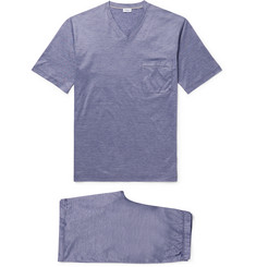 Zimmerli - Cotton-Piqué Pyjama Set