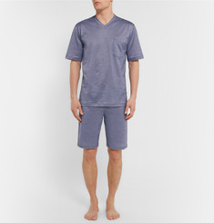 Zimmerli - Cotton-Piqué Pyjamas