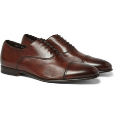 Santoni - Leather Oxford Shoes