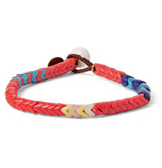Mikia - + United Arrows Glass Snake Bead Bracelet
