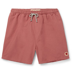 Mollusk - Mid-Length Cotton-Blend Swim Shorts