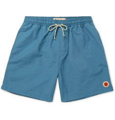 Mollusk Mid-Length Cotton-Blend Swim Shorts