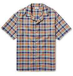 Sleepy Jones - Henry Madras-Checked Cotton Pyjama Shirt