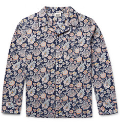Sleepy Jones - Henry Printed Cotton Pyjama Shirt