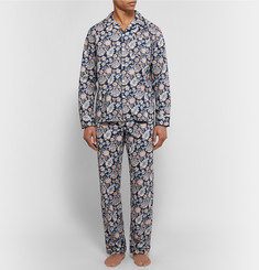 Sleepy Jones Henry Printed Cotton Pyjama Shirt