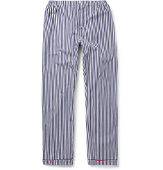Sleepy Jones - Marcel Striped Cotton Pyjama Trousers