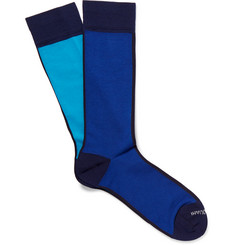 Marcoliani - In & Out Pima Cotton-Blend Extra-Long Socks