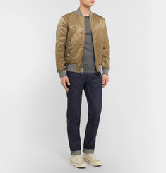 Rag & bone Two Straight-Leg Raw Selvedge Denim Jeans