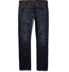 RRL - Slim-Fit Washed Japanese Selvedge Denim Jeans