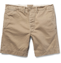 RRL Garment-Dyed Cotton-Twill Chino Shorts