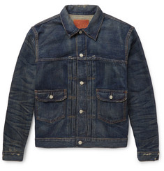 RRL - Distressed Denim Jacket