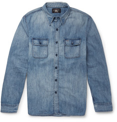 RRL Washed-Denim Shirt