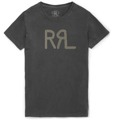 RRL Slim-Fit Printed Cotton T-Shirt