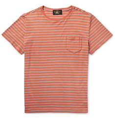 RRL - Voyager Striped Cotton T-Shirt