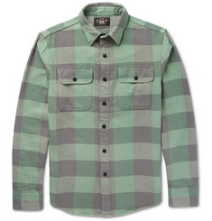RRL - Slim-Fit Plaid Cotton-Flannel Shirt