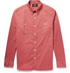 RRL Reliance Printed Washed-Cotton Shirt