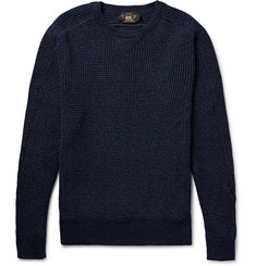 RRL Textured Mélange Cotton Sweater