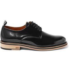 AMI Patent-Leather Derby Shoes