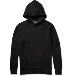 The Elder Statesman Speckle Slub Cashmere Hoodie