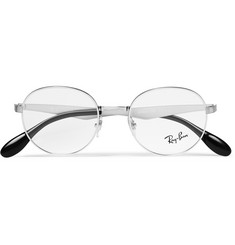 Ray-Ban - Round-Frame Metal Optical Glasses
