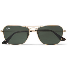 Ray-Ban - Square-Frame Metal and Acetate SunglassesSquare-Frame Metal Sunglasses