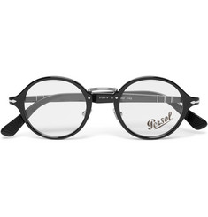 Persol Typewriter Edition Round-Frame Acetate Optical Glasses
