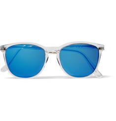 L.G.R Nairobi Square-Frame Acetate Polarised Sunglasses