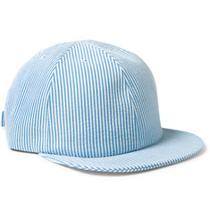 Larose - Seersucker-Cotton Baseball Cap