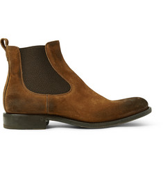 O'Keeffe Bristol Distressed Suede Chelsea Boots