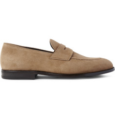 O'Keeffe Samuel Suede Penny Loafers