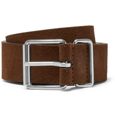 Anderson's - 3cm Brown Suede Belt