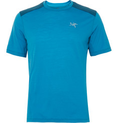 Arc'teryx Pelion Comp Shell-Panelled Wool-Blend Jersey T-Shirt
