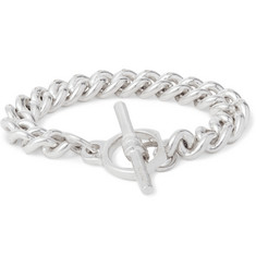 James Tanner Sterling Silver Albert Chain Bracelet