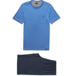 Hanro Sergio Cotton-Jersey Pyjama Set