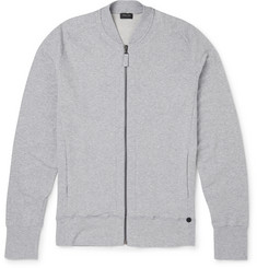 Hanro - Slim-Fit Stretch-Cotton Jersey Zip-Up Sweatshirt